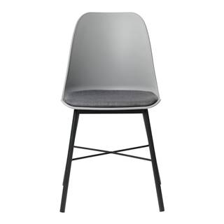 Sivá jedálenská stolička Unique Furniture Whistler