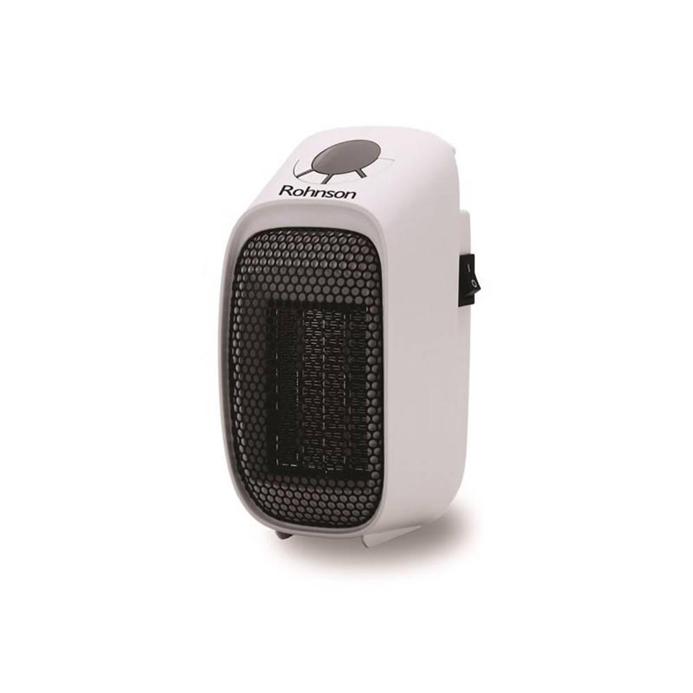 ROHNSON Teplovzdušný ventilátor Rohnson R-8067 čierny/biely