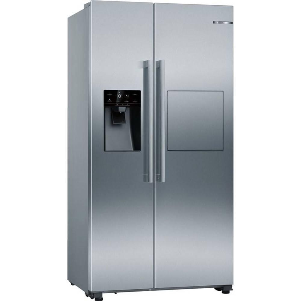 Bosch Americká chladnička Bosch Serie | 6 Kag93aiep nerez