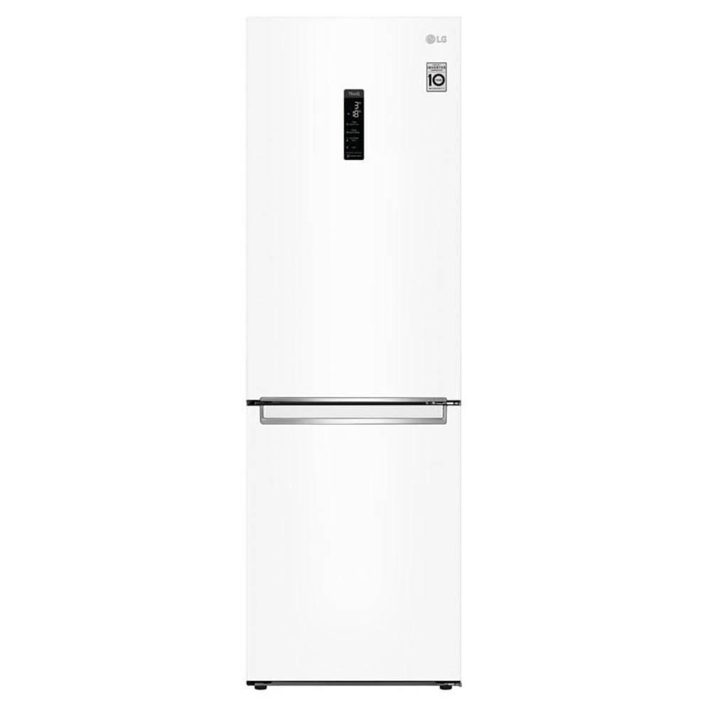 LG Kombinácia chladničky s mrazničkou LG Gbb71swdmn biela