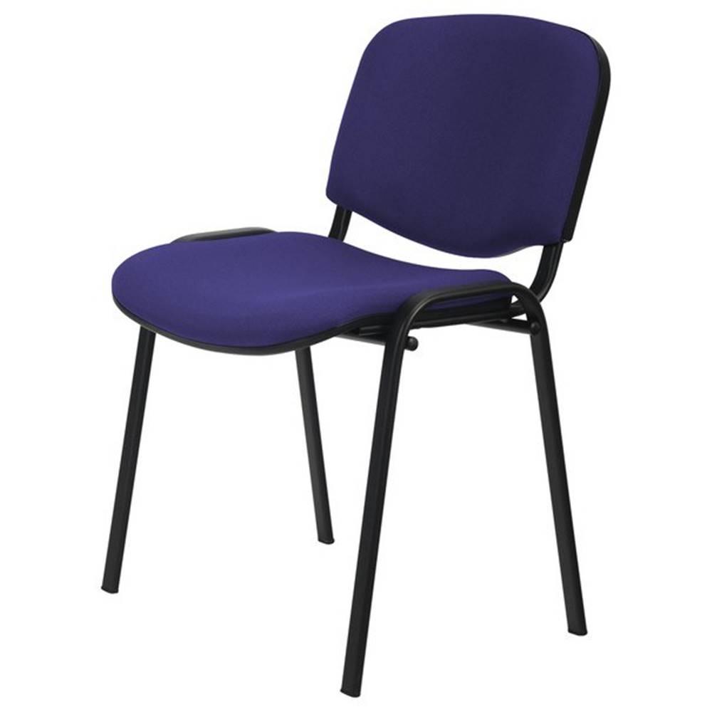 Sconto Konferenčná stolička ISO čierna/modrá