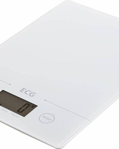 Biela kuchynská váha ECG