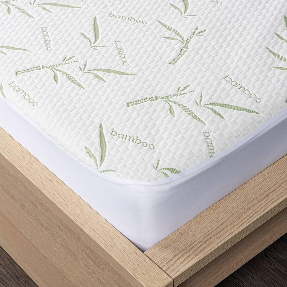 4Home 4home Bamboo Chránič matraca s lemom, 200 x 200 cm