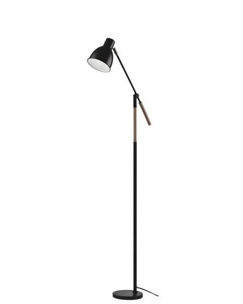 Čierna stajaca lampa Möbelix