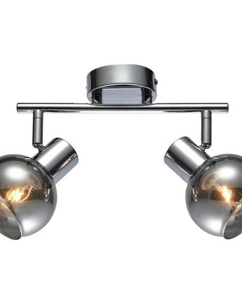 Sivá lampa Möbelix