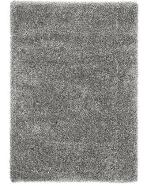 Strieborný koberec Möbelix