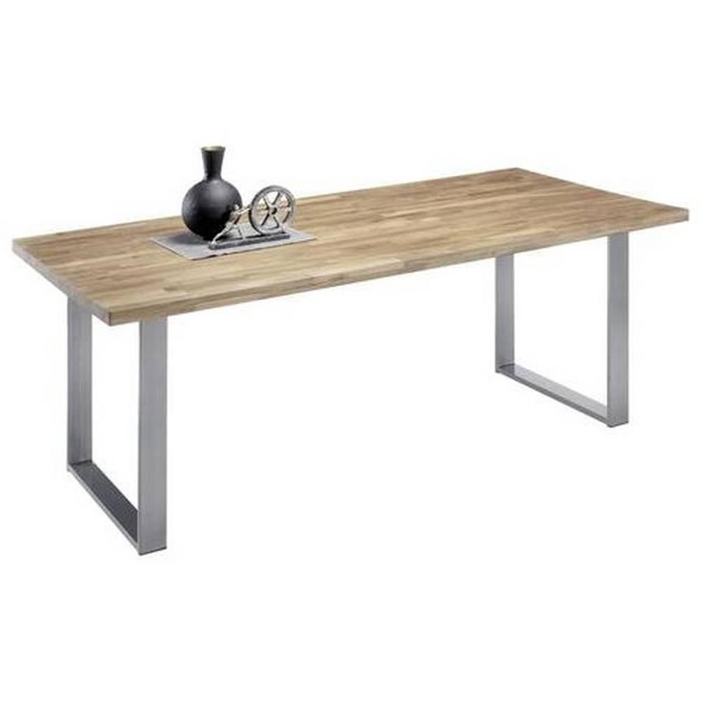 Möbelix Jedálenský Stôl Samuel Dub Masív