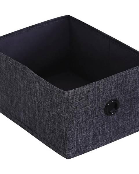 Sivý úložný box Möbelix