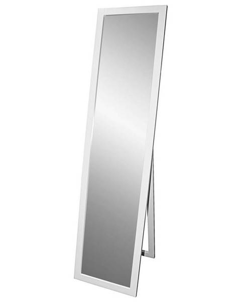 Biele zrkadlo Möbelix