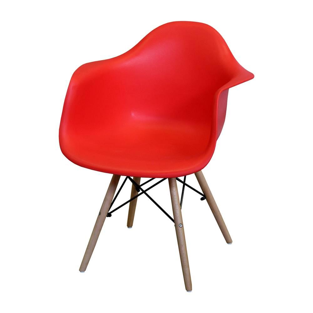 IDEA Nábytok Jedálenská stolička DUO červená