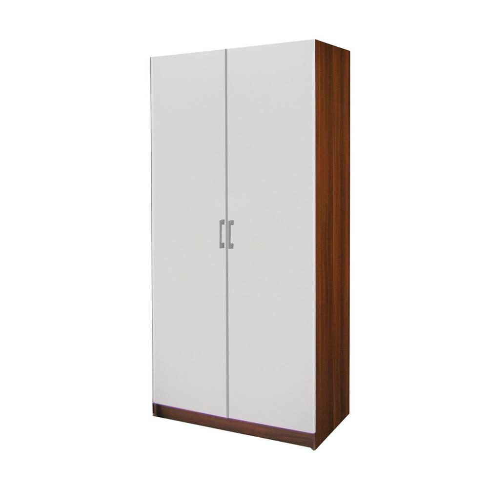 IDEA Nábytok Skriňa ESO 2-dverová 61520 orech/biela