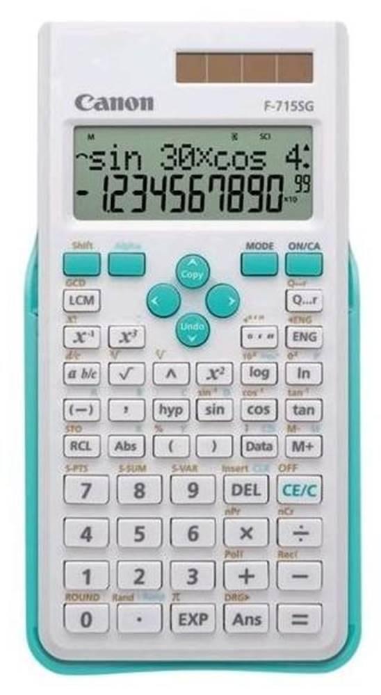 Canon Kalkulačka Canon F-715SG biela/modrá