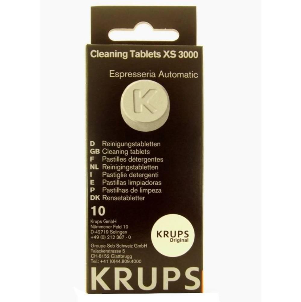 Krups Čistiace tablety pre espressá Krups XS300010