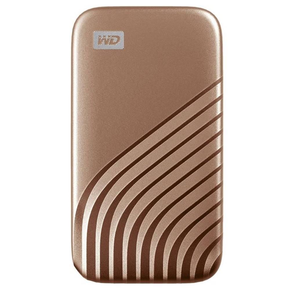 Western Digital SSD externý Western Digital My Passport SSD 500GB zlatý