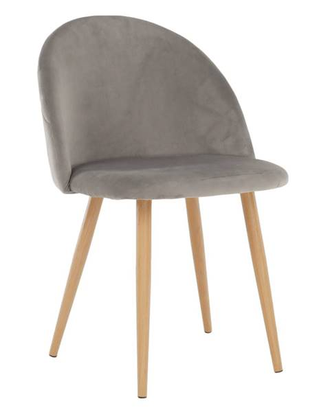 Sivá stolička Tempo Kondela