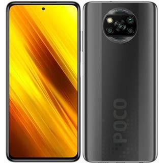 Mobilný telefón Xiaomi Poco X3 128 GB sivý
