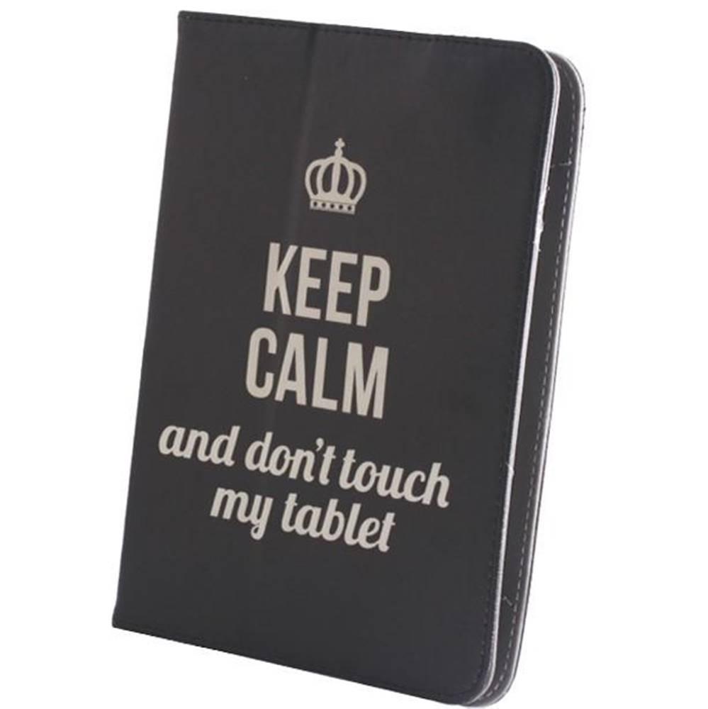 """GreenGo Púzdro na tablet flipové GreenGo Keep Calm na tablet 7-8"""""""