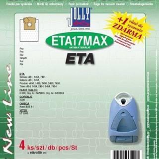 Sáčky pre vysávače Jolly MAX ETA 17