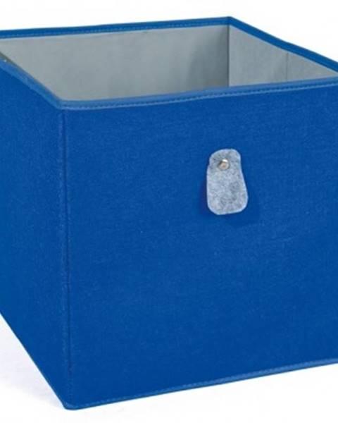 Modrý úložný box ASKO - NÁBYTOK