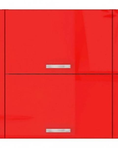 Červená skriňa ASKO - NÁBYTOK