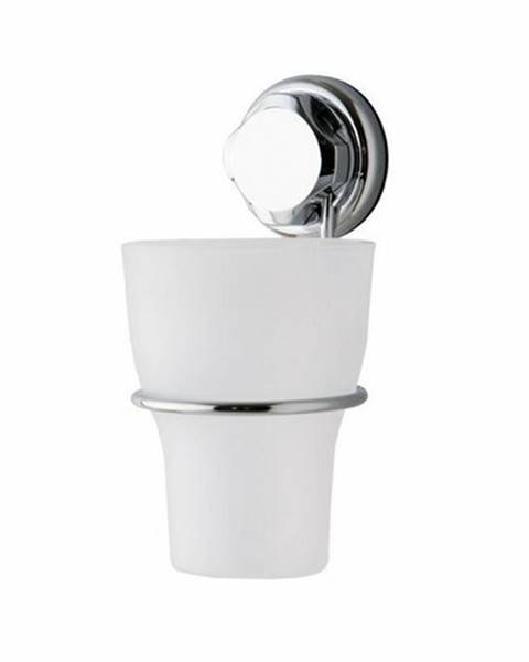 Strieborné doplnky do kúpeľne Compactor