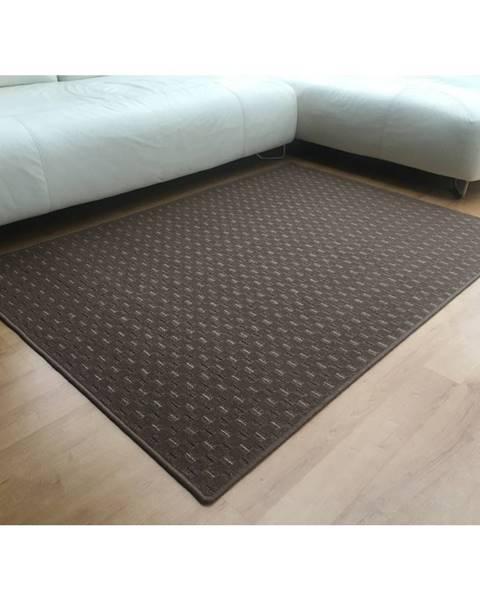Hnedý koberec Catler