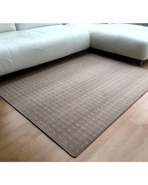 Béžový koberec Sencor