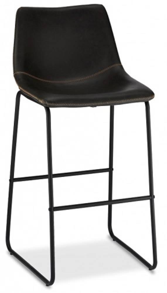 OKAY nábytok Barová stolička Guaro čierna