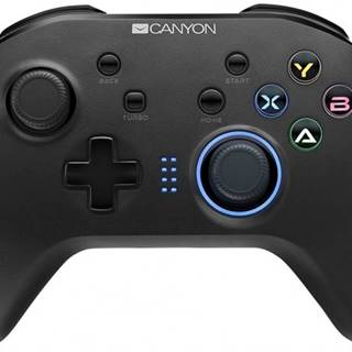 Gamepad Canyon CND-GPW3, pre NS, PS3, PC, android, bezdrôtový