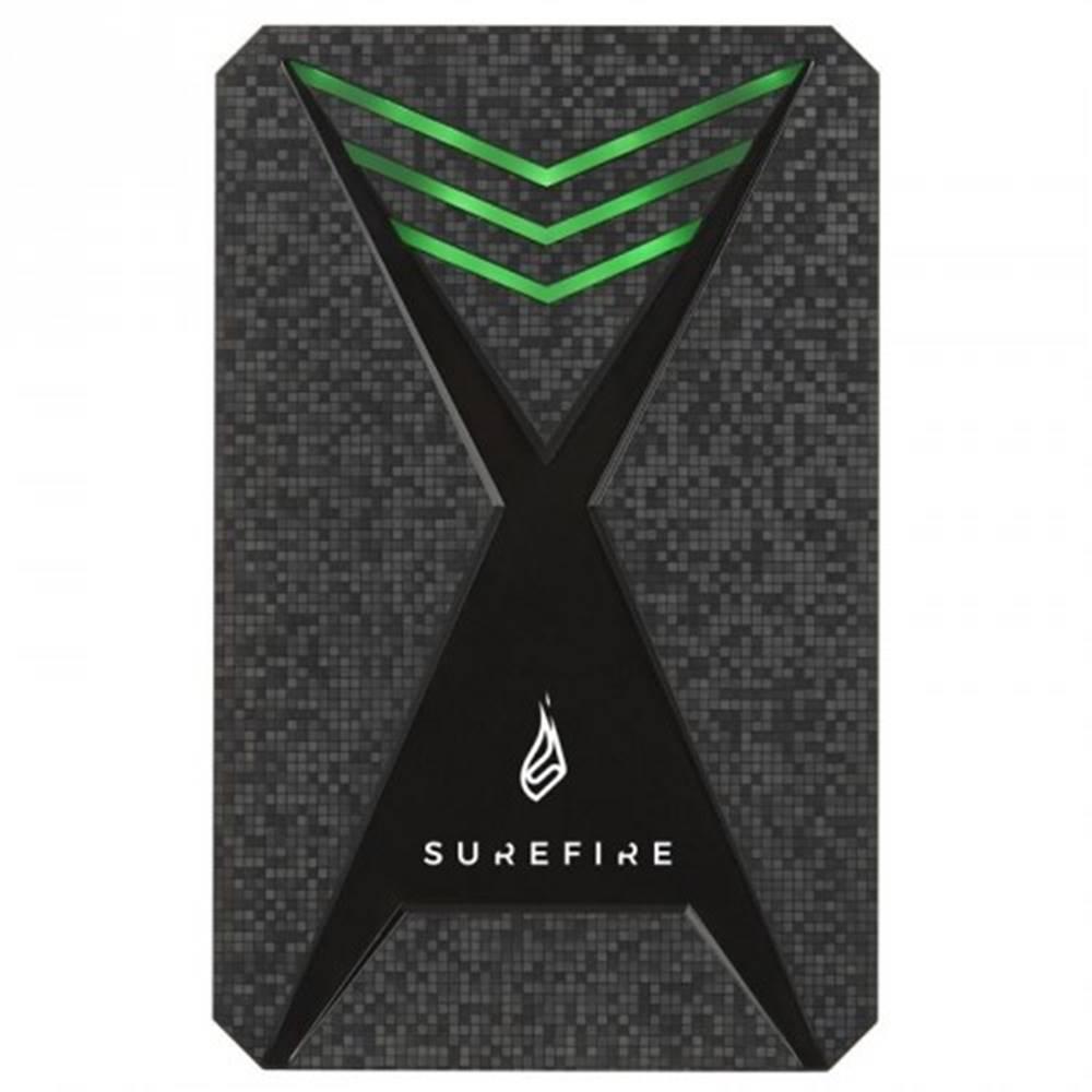 SureFire Externý SSD disk Surefire GX3 Gaming, USB 3.2, 512GB, čierny