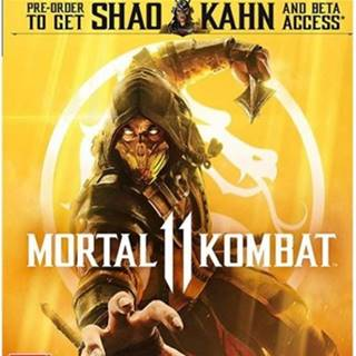 PS4 hra - Mortal Kombat XI
