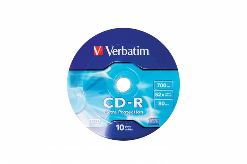 Verbatim CD Verbatim 43725, 700MB, WRAP protection, 10ks