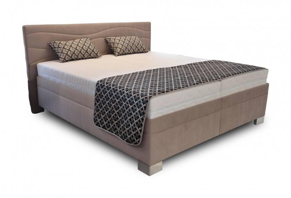 OKAY nábytok Čalúnená posteľ Windsor 180x200 vrátane výkl.roštov,matrac. a úp