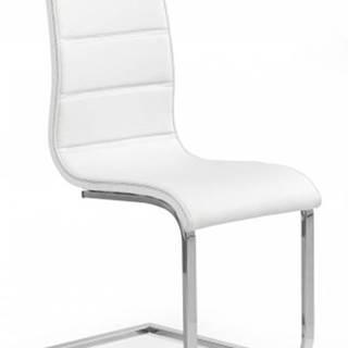 Jedálenská stolička K104 biela