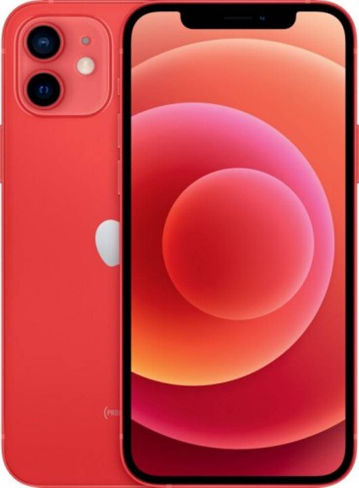Apple Mobilný telefón Apple iPhone 12 64GB, červená