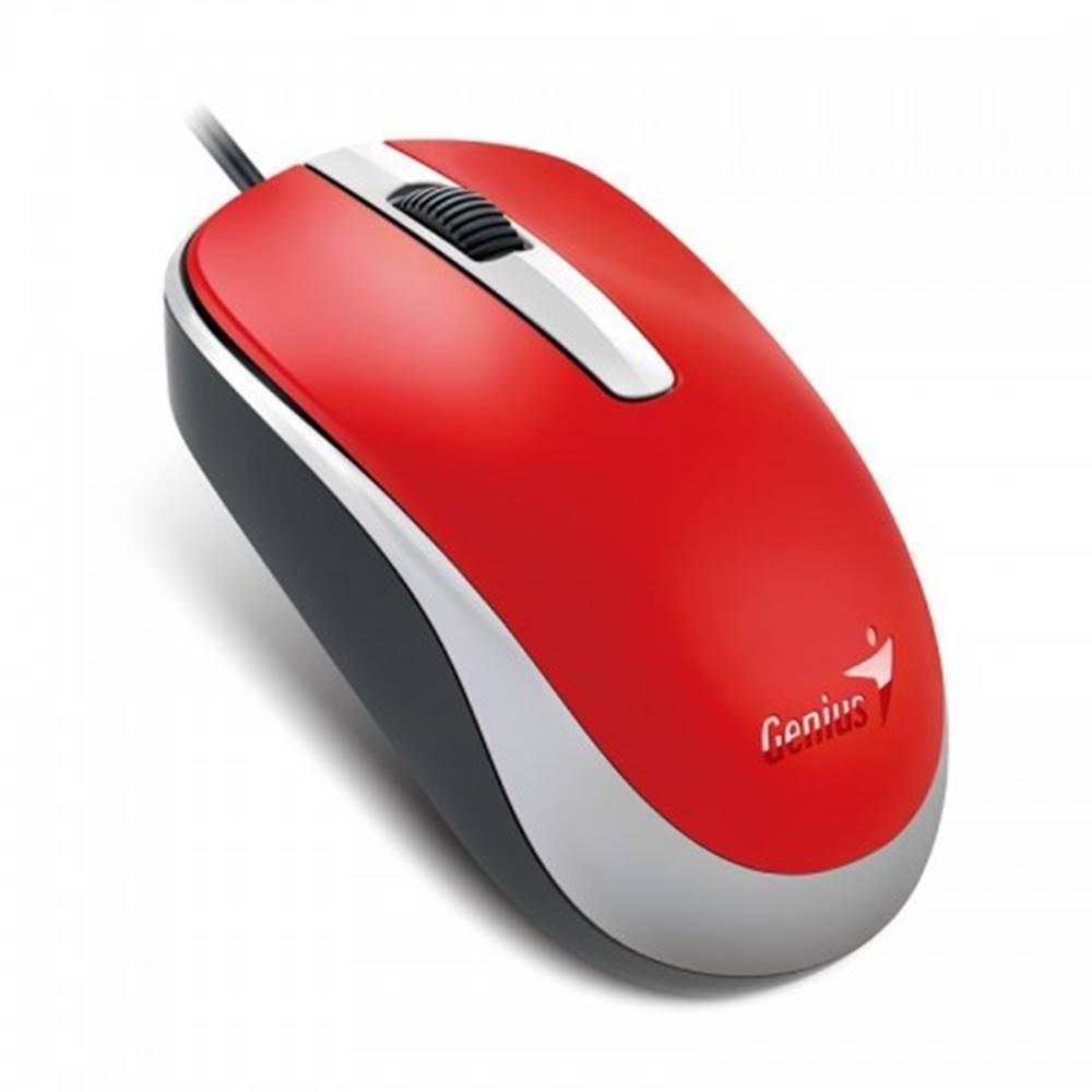 Genius Myš Genius DX-120 červená