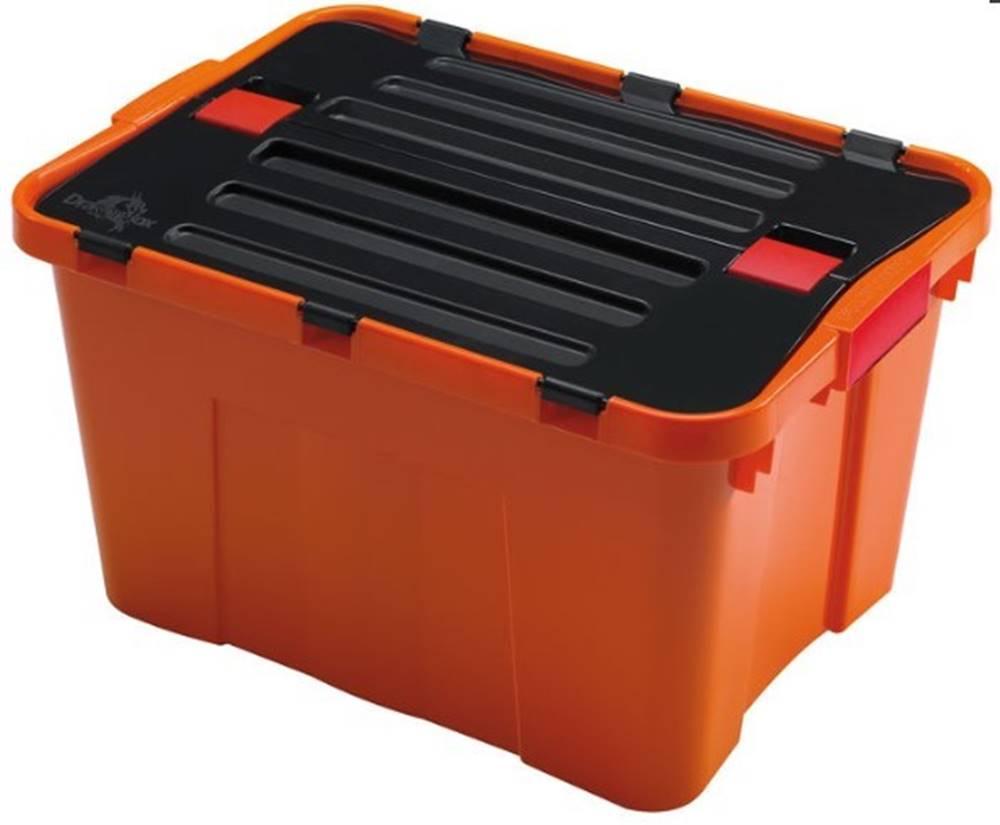 HEIDRUN Úložný box Heidrun HDR1645, DRAGON, 34L, oranžový