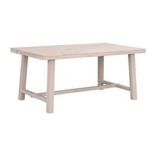 Matne lakovaný dubový jedálenský stôl Rowico Brooklyn