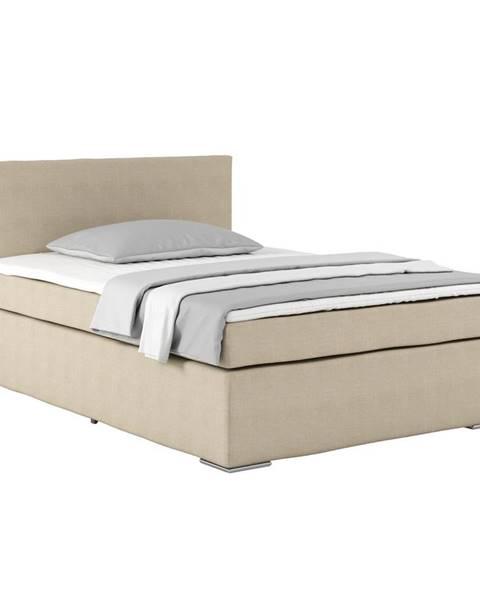 Béžová posteľ Möbelix