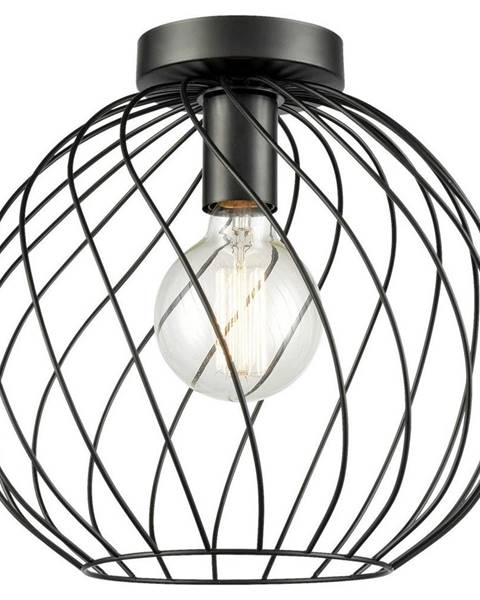 Čierne závesné svietidlo Möbelix