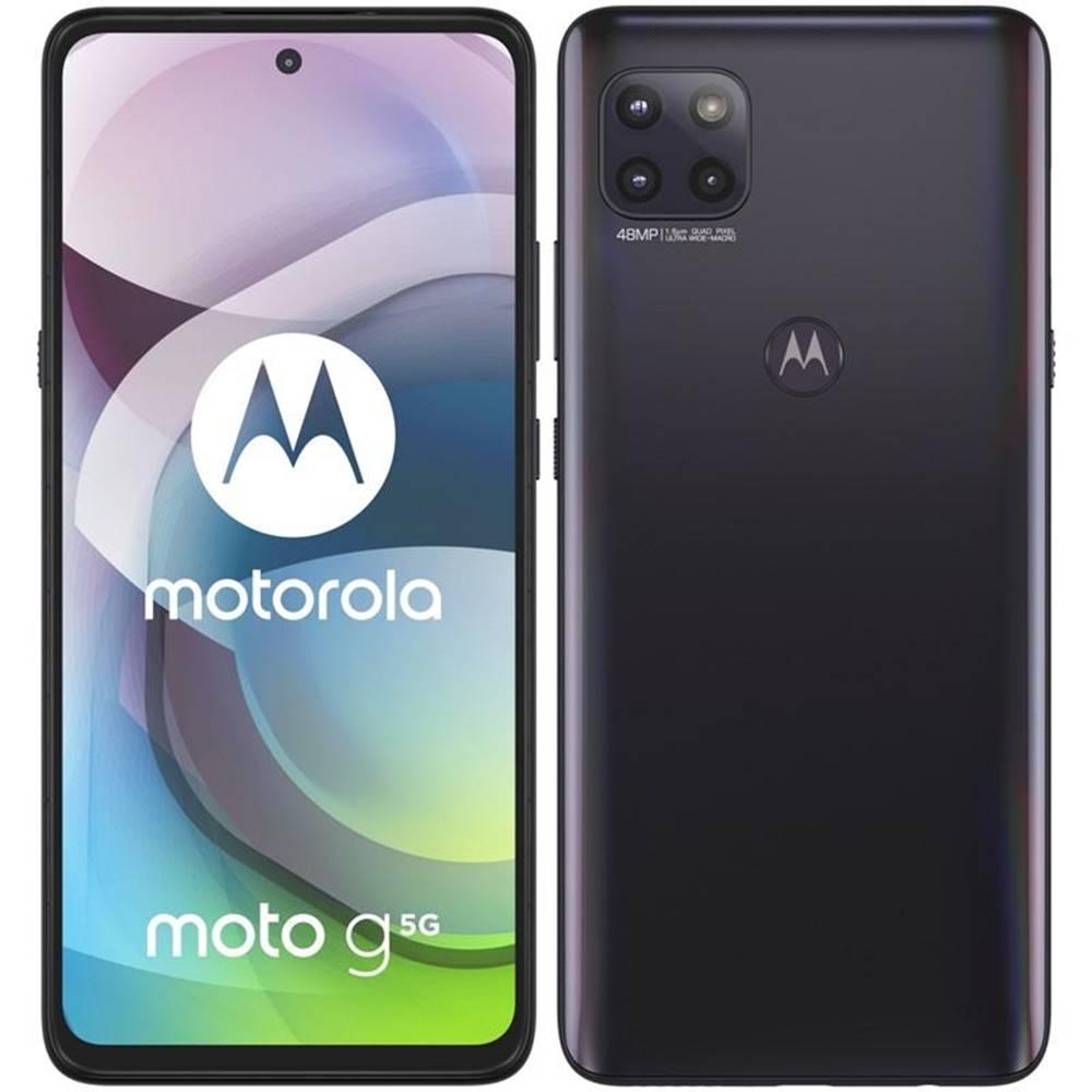 Motorola Mobilný telefón Motorola Moto G 5G sivý