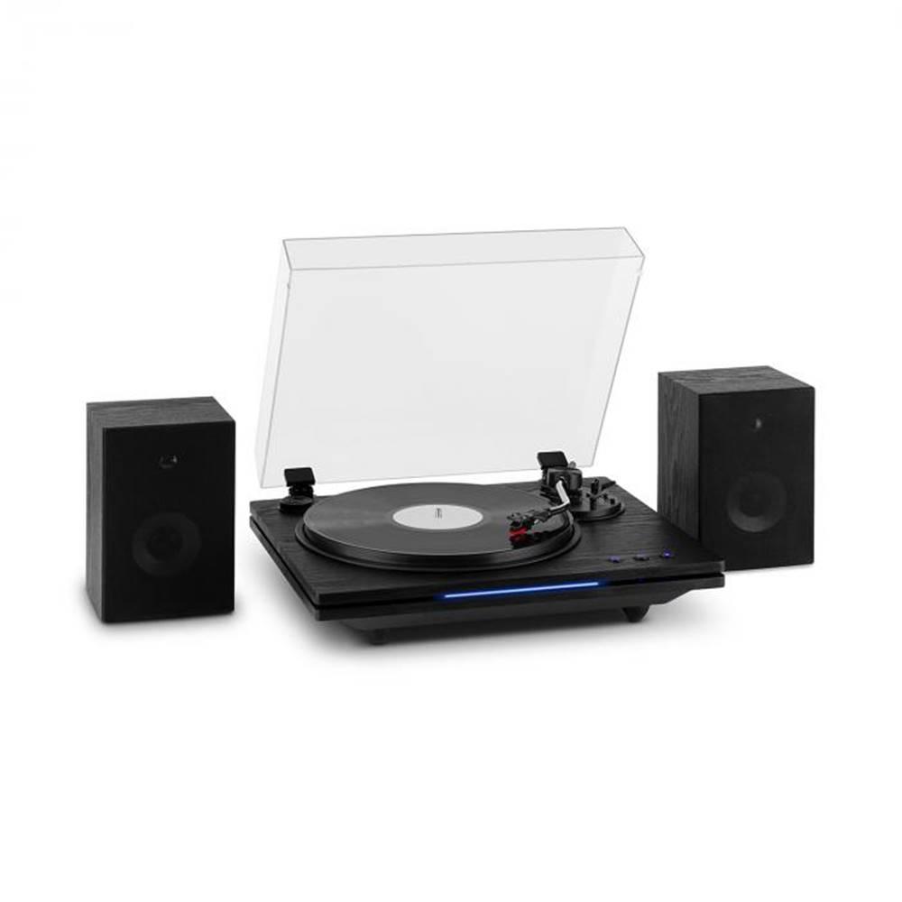 Auna Auna TT-Play PLUS, gramofón, reproduktory, max.20W, BT, 33/45/78 rpm