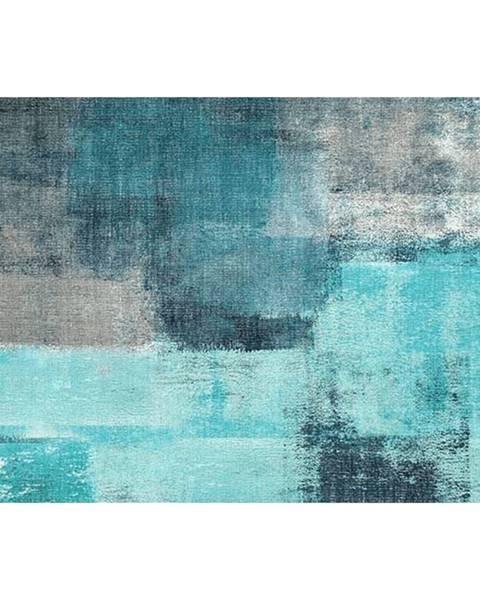Modrý koberec Tempo Kondela