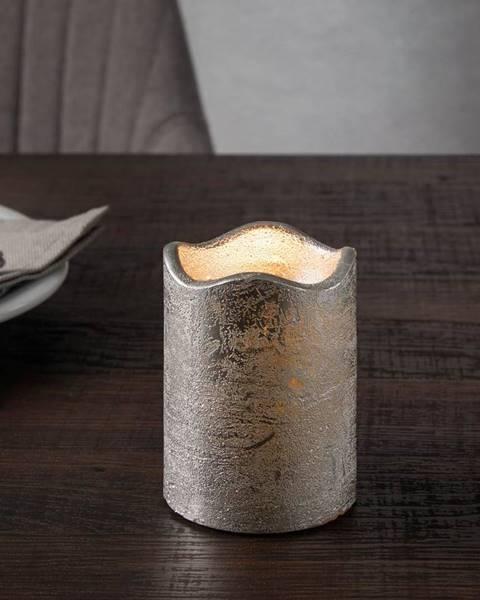 Strieborná sviečka Möbelix