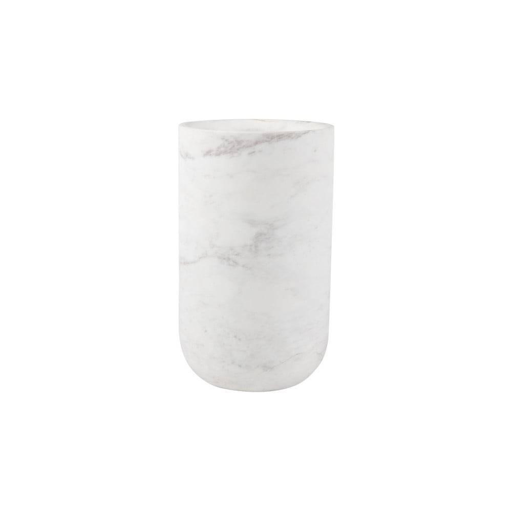 Zuiver Biela mramorová váza Zuiver Fajen