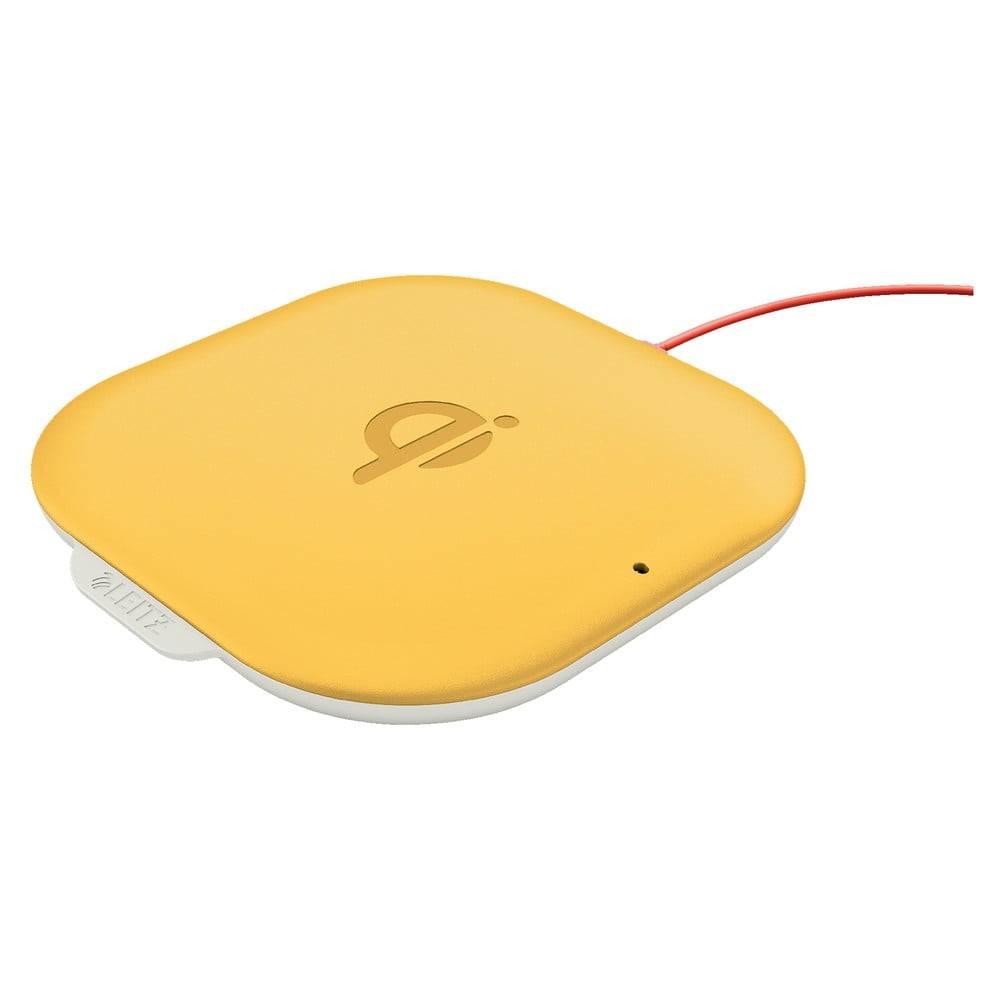 Leitz Žltá bezdrôtová nabíjačka Leitz Cosy