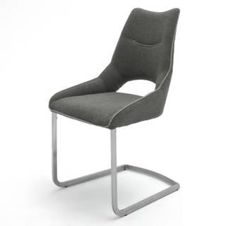 Jedálenská stolička ISLA tmavosivá