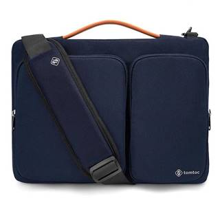 """Brašna na notebook tomtoc Messenger na 16"""" MacBook Pro 2019 modrá"""