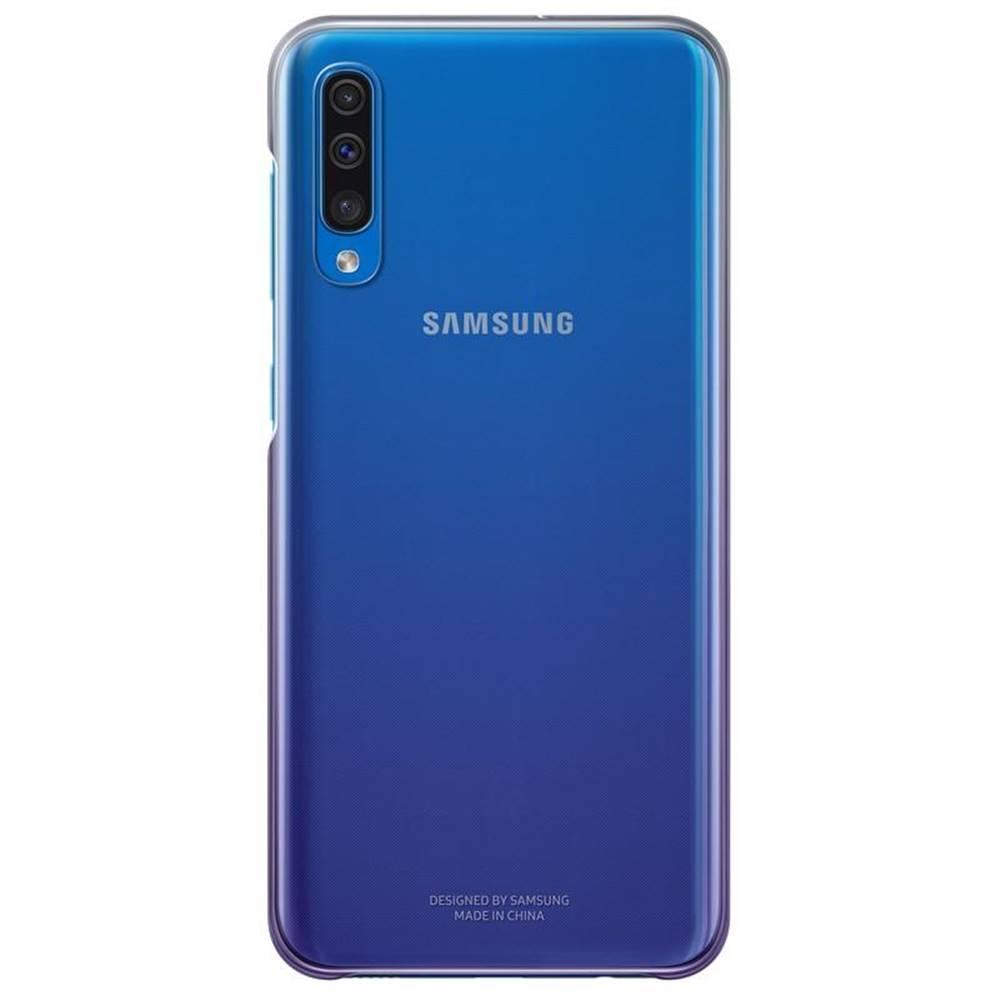 Samsung Kryt na mobil Samsung Gradation Cover na Galaxy A50 fialový