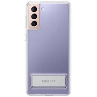 Kryt na mobil Samsung Clear Standing na Galaxy S21+ 5G priehľadný